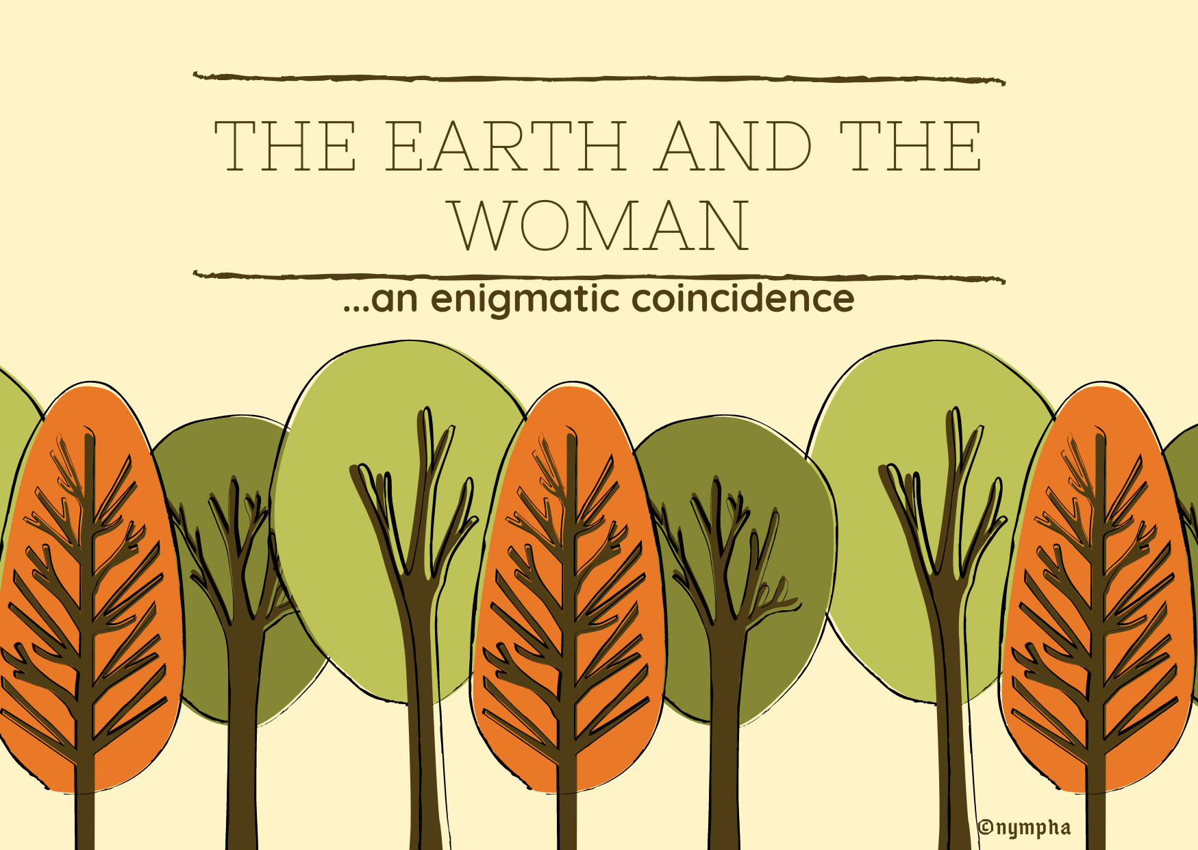 The earth and the woman